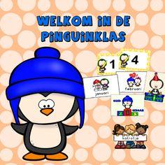 welkom in de pinguinklas met katrotje  Een vrolijk bestand voor in de kleuterklas