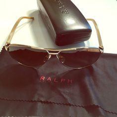 Ralph Lauren polarized sun glasses Polarized, gold Ralph Lauren Accessories Sunglasses