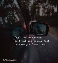 Don't allow someone to treat you poorly.. —via http://ift.tt/2eY7hg4