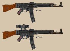 WW2 MP44 Sturmgewehr 44 by BigChiefCrazyTalk