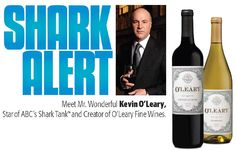 """Our friend, Kevin O'Leary (aka. Wonderful from """"Shark Tank"""") is in the Bay Area TODAY signing bottles of his wines at a local retailer. Click through & contact us! Kevin O'leary, Homemade Christmas Decorations, Wine Brands, Los Angeles Area, Contact Us, Shark Tank, Fine Wine, Bay Area, Wines"""