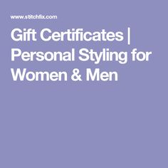 stitch fix gift card - Gift Certificates   Personal Styling for Women & Men