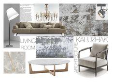 """Living sample 7"" by kalujak on Polyvore featuring interior, interiors, interior design, дом, home decor, interior decorating и Artemide"