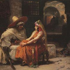 الموعد Le Rendez-vous Frédérick Arthur Bridgman , Peintre Américain (1847_1928) #algerie #algeria #peinturedalgerie #art #art🎨 #artwork #artofinstgram #paint #painting #oilpainting #الجزائر #الجزائر_المحمية_بالله #تاريخ_الجزائر #التراث_الجزائري #اللباس_التقليدي_الجزائري #لوحات_فنية_جزائرية #لوحة_فنية