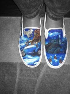 My Harry potter shoes<3