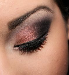 this could be done with a combo of Mary Kay's cream eye color and mineral eye color :)