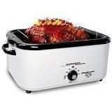 Click Image Above To Buy: Hamilton Beach 18 Quart Roaster Oven With Buffet Pans Nesco Roaster Oven, Roaster Oven Recipes, Electric Roaster Ovens, Roaster Recipe, Electric Oven, Ham Recipes, Slow Cooker Recipes, Cooking Recipes, Crowd Recipes