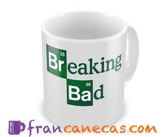 Caneca Personalizada Breaking Bad Ideal para presentear colaboradores, amigos ou pessoas especiais. Canecas personalizadas Premium, com alta...