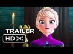 New Disney 'Frozen' Trailer focuses on Elsa. #DisneyPrincess