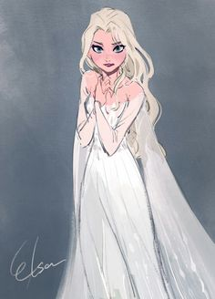 elsa drawing * elsa & elsa frozen 2 & elsa cake & elsa hosk & elsa birthday party & elsa birthday cake & elsa and jack frost & elsa drawing Frozen Disney, Disney Pixar, Princesa Disney Frozen, Frozen Art, Elsa Frozen, Disney And Dreamworks, Disney Animation, Disney Characters, Frozen Anime