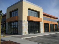 Retail building in San Jose, CA (Hagman Architects, Adamo & Associates Structural Engineers)