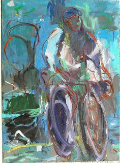 Sin título. Óleo sobre lienzo. 100 x 81 cm. 2004. Autor: Jorge Rando