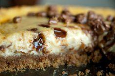 Daim cheesecake, recipe in Finnish