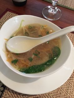 Nice and fast Thai Stuff in here Restaurant, Soup, Nice, Ethnic Recipes, Diner Restaurant, Restaurants, Soups, Dining