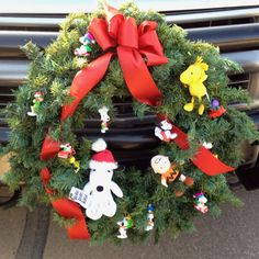 Snoopy Christmas Wreath!