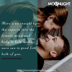 Here's an insight by the experts into the female mind and body to help make sure sex is good for both of you. http://bit.ly/2oAm0Uy  #bestbrothels #bestadultservice #girlsoncall