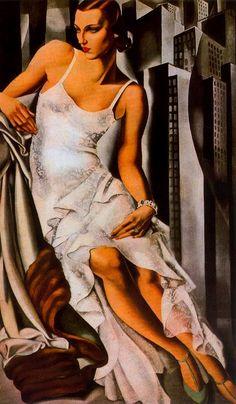 Tamara de Lempicka >> Retrato de Madame Allan Bott
