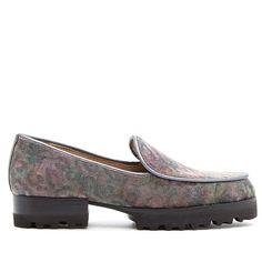 Donald J Pliner Donald J. Pliner Elen Slip-On Loafer - Purple