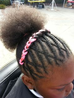 Kids braids Black Kids Hairstyles, Natural Hairstyles For Kids, Kids Braided Hairstyles, Little Girl Hairstyles, Cute Hairstyles, Natural Hair Styles, Little Girl Braids, Black Girl Braids, Braids For Kids