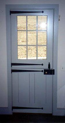 Dutch Door With Strap Hinges By H. Hirschmann LTD, Vermont, USA |  Hirschmann Windows And Doors | Remodel Ideas | Pinterest | Dutch Doors