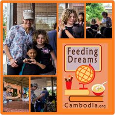 We <3 our Feeding Dreams Volunteers, they bring so much happiness to all the children and they learn so much too. WIN / WIN <3 Thanks to all our past and present volunteers and to Joan and her daughter Summer (as shown in these images). Viewing this Facebook post and interested in our Feeding Dreams Volunteering Program in Teaching & Education ? http://feedingdreamscambodia.org/volunteer/volunteer-program.php
