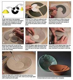 pottery triangle template에 대한 이미지 검색결과