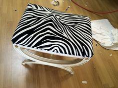Encore du tissus zebre