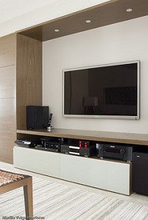 Best DIY Entertainment Center Design Ideas For Living Room Tv Wall Design, Tv Unit Design, House Design, Living Room Tv Unit, Tv Stand Designs, Muebles Living, Entertainment Center, Home Interior Design, Home And Living