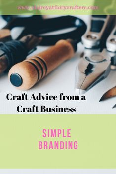 Branding doesn't need to be complicated here are a few simple tips on how to introduce branding to your business. Many of which you probably do already! #branding #businessbranding #simplebranding #runningashop Selling Crafts Online, Craft Online, Business Goals, Business Advice, Business Education, Business Management, Business Branding, Business Names, Online Business