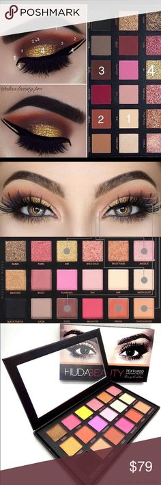 Hot selling huda beauty pellet on sale Huda beauty is a social media beauty diva and she has crazy fan following specialLy for this beautiful palette please Check out the video here https://youtu.be/kXtRKfhe6eE and buy all the products in guarantee discounted prices:) from by virtual boutique:) huda beauty  Makeup Eyeshadow