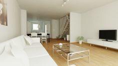 Wohnideen Reihenhaus innenillustration wohnzimmer glonner 9 glonner9 illustration