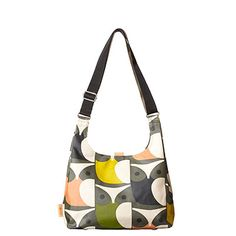 Orla Kiely | UK | zakken | Stam zakken | Grote Uil Midi Sling Bag (15AEBOW044) | multi-