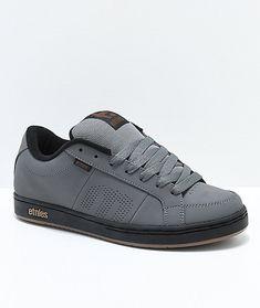 info for 5928e 2de4e Etnies Kingpin Grey, Black   Gold Skate Shoes Zapatillas Originales,  Zapatillas Vans, Zapatillas
