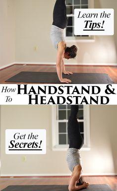 Guide to How to Handstand! Tips to build shoulder and core strength! Fitness Workouts, Yoga Fitness, Fitness Tips, Fitness Motivation, Health Fitness, Cardio Workouts, Tai Chi, Jiu Jitsu, Asana