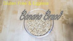 Gluten-free Vegan Banana bread #glutenfree #bananabread #veganbread #soymilk #banana #vegan