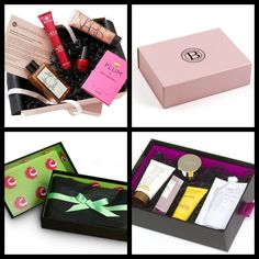 my sister just told me about these sample boxes. Just got my invite to Birchbox. Got curious. here are some more that might be worth wihile.