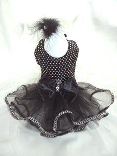 Gorgeous elegant black harness tutu dress Size by Pinkpunkpuppy, $29.00