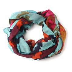 Camelina Scarf Blue, $18, now featured on Fab.