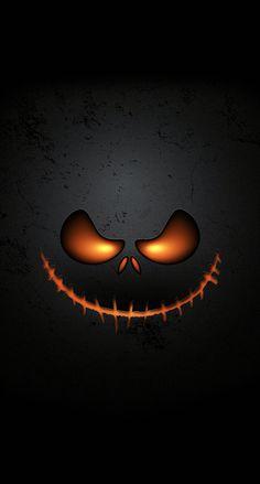 Halloween Wallpaper Pinned On