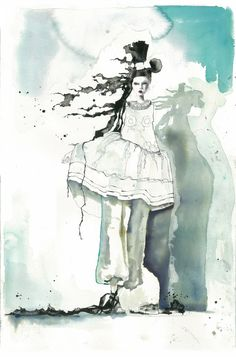 Marcela Gutierrez fashion illustration