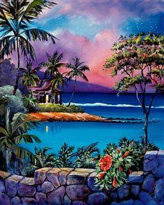 jim kingwell artist | Jim Kingwell http://www.alohalatitudes.com