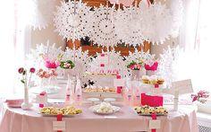 table settings, dessert tables, baby shower ideas, girl baby showers, baby girls, baby girl shower, babi shower, dessert bars, parti