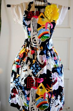 Beautiful Art Deco Ladies with Tats print full apron by Gonzo4Him, $25.00