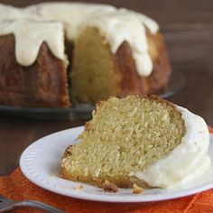 Orange Yogurt Bundt Cake Recipe | Key Ingredient