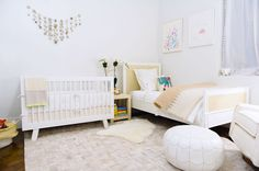 A Neutral City Nursery by Serena & Lily - Decorating - Lonny