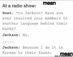 Why I love jackson #Got7