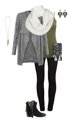 """Untitled #225"" by hjpnosser ❤ liked on Polyvore featuring J Brand, M&Co, UGG Australia, Qupid, Lulu Frost and Roberto Cavalli"