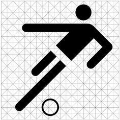 Otl Aicher / The Olympic Games / Summer Olympics / Munich 1972 / Pictogram / 1972 Poster Design, Logo Design, Web Design, Type Design, Identity Design, Geometric Pattern Design, Geometric Designs, Helmut Schmid, 1972 Olympics