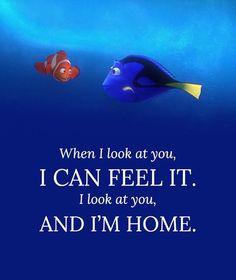 Gotta love Finding Nemo ♥