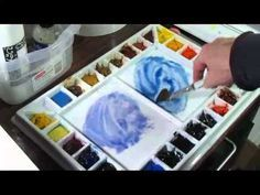 Mini Demos of Key Watercolor Tech 3 - YouTube